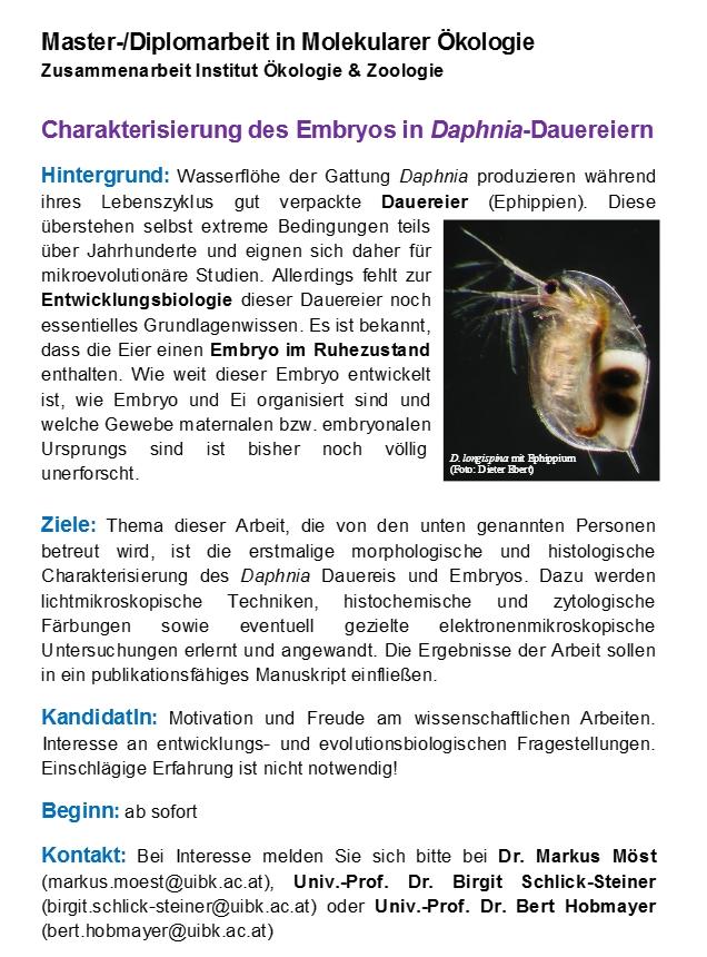 Master_Diplomarbeit in Molekularer Ökologie