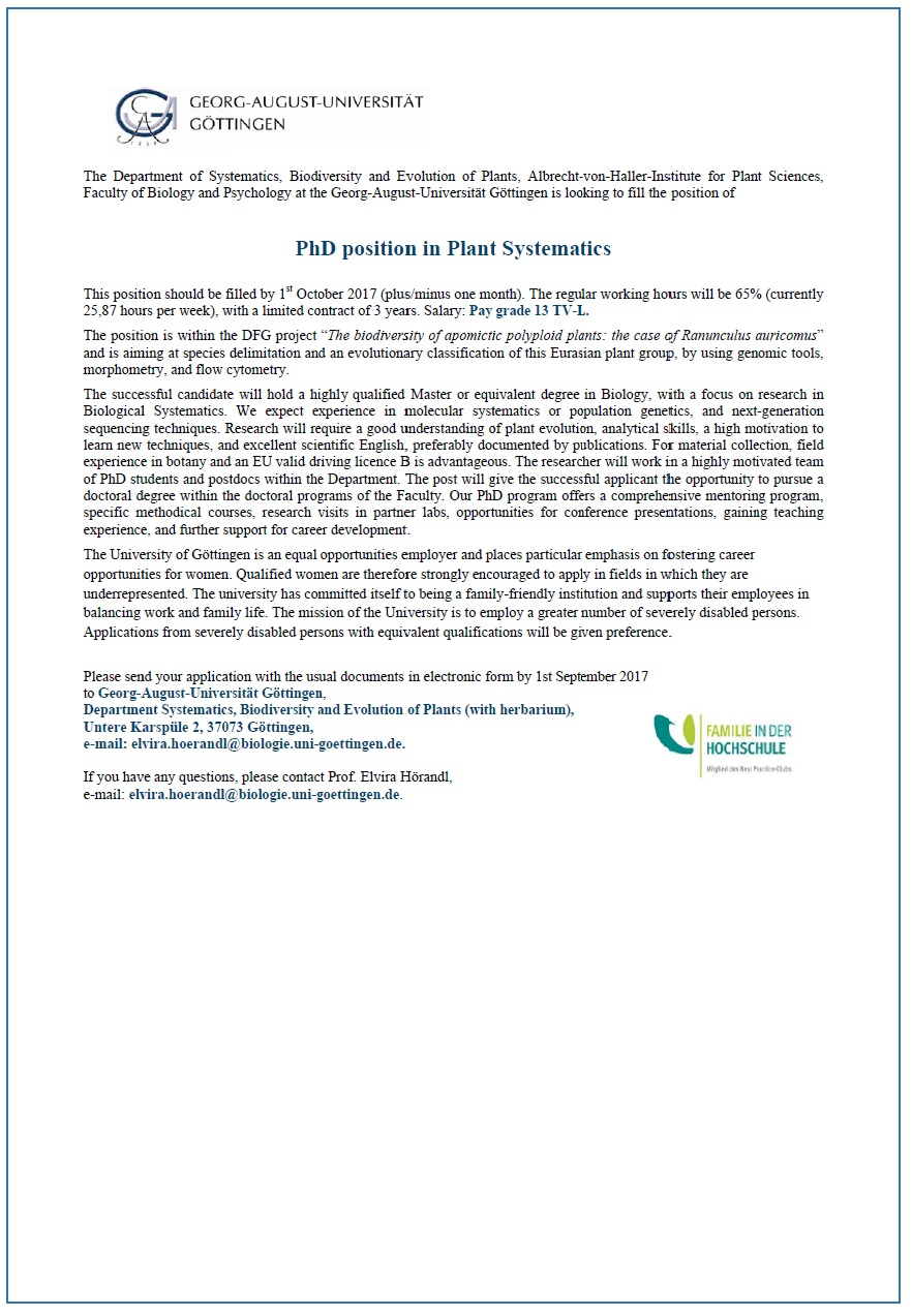 PhD_position_plantsystematic