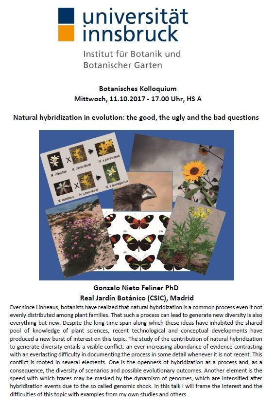 Botanisches Kolloquium 10.17