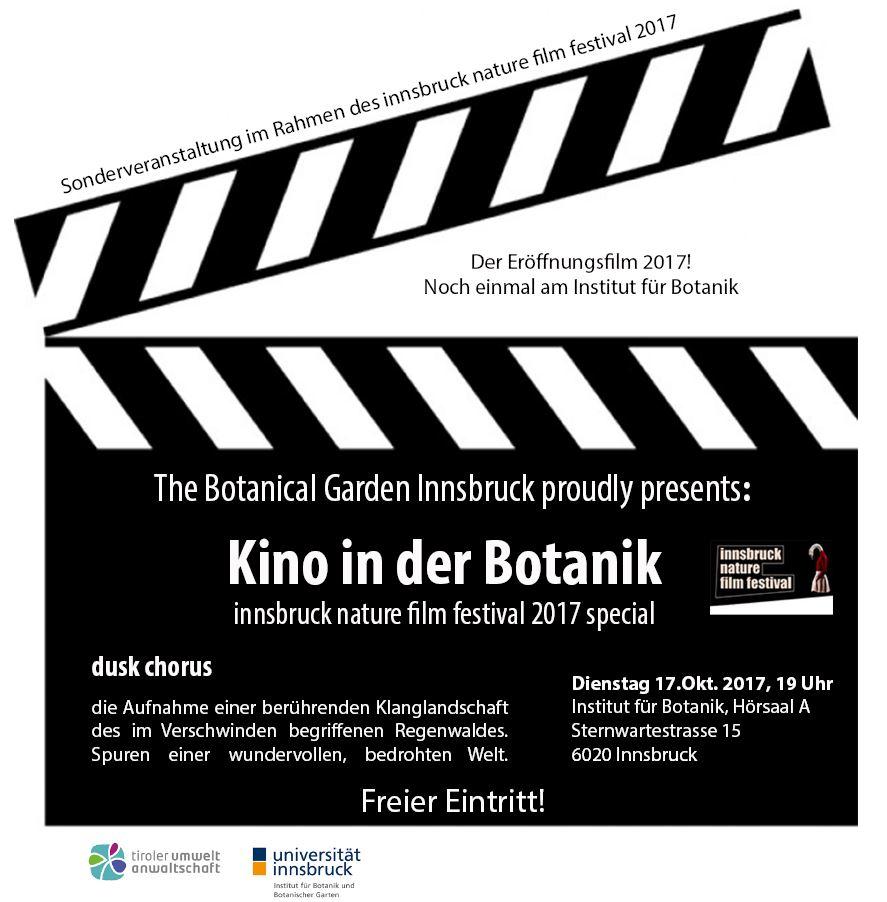 Kino in der Botanik