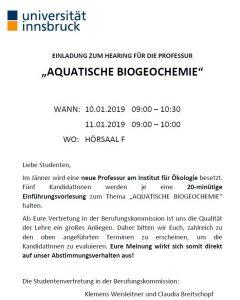 Aquatische  Biogeochemie