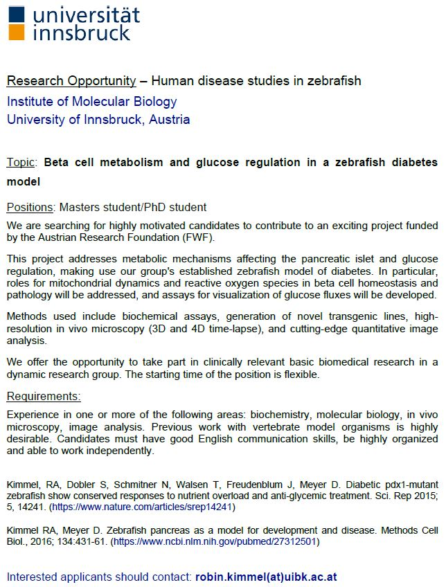 Research Opportunity _Molecular Biology